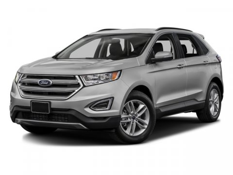 2017 Ford Edge SEL Shadow BlackLeather Trimme V4 20 L Automatic 0 miles  Turbocharged  Front