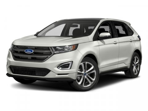 2017 Ford Edge Sport White Platinum Metallic Tri-CoatEbony V6 27 L Automatic 5 miles The 2017