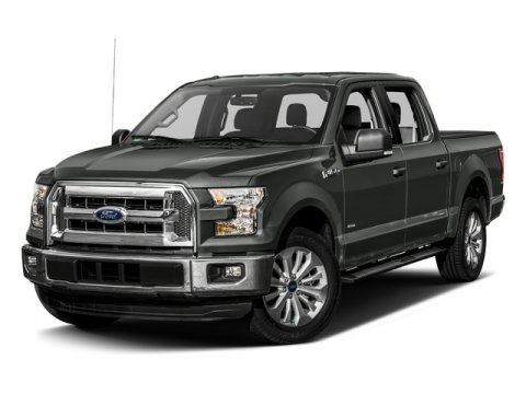 2017 Ford F-150 V8 SuperCrew XLT RWD Shadow BlackMedium Earth Gray V8 50 L Automatic 17796 mil
