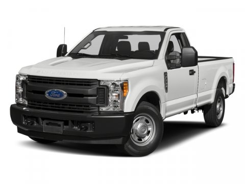 2017 Ford Super Duty F-250 SRW XL Oxford WhiteMed Earth Gry Hd Vinyl V8 62 L Automatic 0 miles
