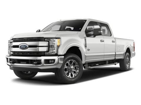 2017 Ford Super Duty F-250 SRW Z1 Oxford White2S Cloth 40Console40 Seat Medium Earth Gray V8 6