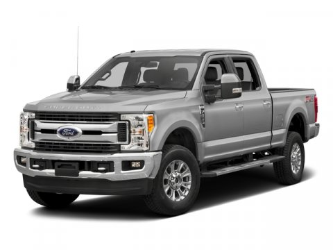 2017 Ford Super Duty F-350 SRW Lariat White Platinum Metallic Tri-CoatBlk Front Leather V8 67 L