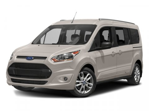 2017 Ford Transit Connect Wagon XLT Magnetic Metallic7B Cloth Seats Charcoal Black V4 25 L Auto