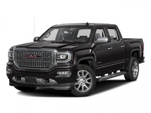 2017 GMC Sierra 1500 Denali Mineral MetallicJet Black V8 62L Automatic 0 miles  RO  Brake As