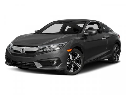 2017 Honda Civic Coupe Touring WbBeige V4 15 L Variable 2 miles Price Plus Dealer Installed O