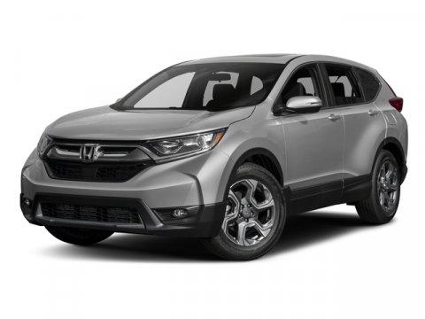 2017 Honda CR-V EX Gunmetal MetallicGray Leather V4 15 L Variable 5 miles  ENGINE- 15L TURBO