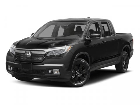 2017 Honda Ridgeline Black Edition BLACLBLACK RED V6 35 L Automatic 10 miles  All Wheel Drive