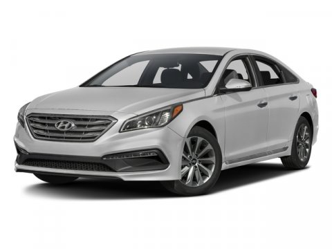 2017 Hyundai Sonata Sport Nouveau BlueGray V4 24 L Automatic 0 miles  BLACK LEATHER BOLSTERC