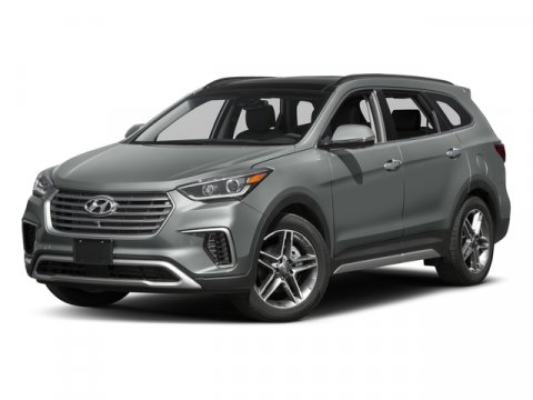 2017 Hyundai Santa Fe Limited Ultimate SilverGray V6 33 L Automatic 3 miles  All Wheel Drive