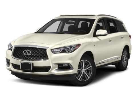 2017 INFINITI QX60 Majestic WhiteGGRAPHITE V6 35 L Variable 6 miles New Price 3 000 off M