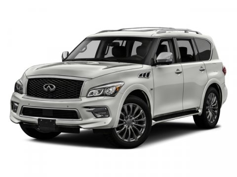 2017 INFINITI QX80 RWD Liquid PlatinumGraphite V8 56 L Automatic 21179 miles Off Lease Only i