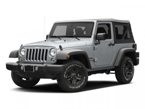 2017 Jeep Wrangler Sport Bright White ClearcoatBlack V6 36 L Automatic 0 miles Check out this