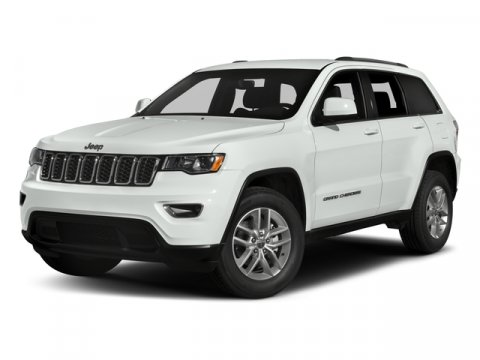 2017 Jeep Grand Cherokee LARE Bright White ClearcoatCLOTH V6 36 L Automatic 1 miles  Rear Whe