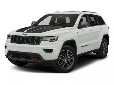 2017 Jeep Grand Cherokee Trailhawk Diamond Black Crystal PearlcoatRuby Red Black V6 36 L Automa
