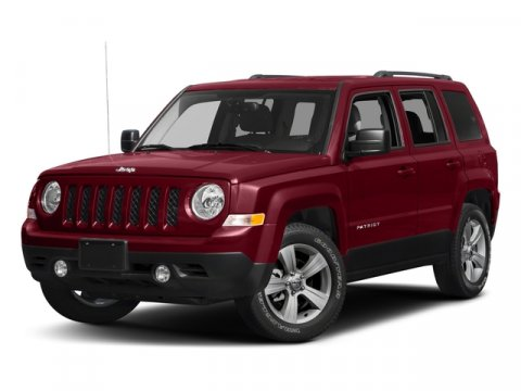 2017 Jeep Patriot Sport DEEP CHERRY REDPremium Cloth V4 24 L Automatic 1 miles  Front Wheel D