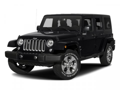 2017 Jeep Wrangler Unlimited Black V6 36 L  0 miles Scores 21 Highway MPG and 16 City MPG Th