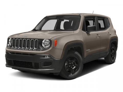 2017 Jeep Renegade Sport Alpine WhiteBlack V4 14 L Manual 0 miles  BLACK CLOTH LOW-BACK BUCKET