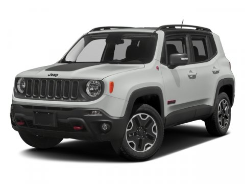2017 Jeep Renegade Trailhawk Pwv Alpine White Vr-296Tlx9 V4 24 L Automatic 10 miles JEEP RE