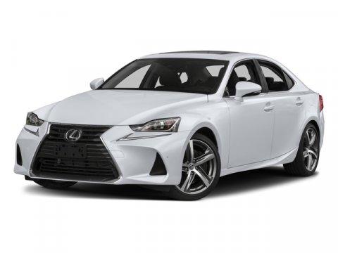 2017 Lexus IS IS 350 F Sport  V6 35 L Automatic 11 miles  NAVIGATION SYSTEM PACKAGE -inc Lex