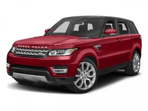 2017 Land Rover Range Rover Sport V6 Supercharged SE AWD Farallon Black MetallicEbonyEbonyEbony