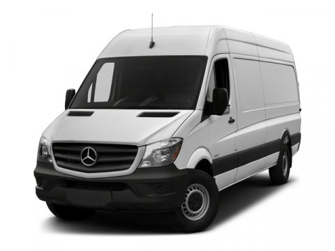 2017 Mercedes Sprinter Cargo Van Jet BlackLeatherette Bla V6 30 L Automatic 7 miles From the
