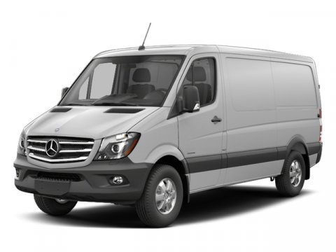 2017 Mercedes Sprinter Cargo Van Arctic WhiteTunja Black V6 30 L Automatic 9 miles From the d