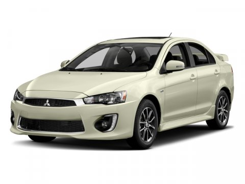 2017 Mitsubishi Lancer ES Diamond White PearlBlack V4 20 L Variable 10 miles Special internet