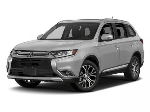 2017 Mitsubishi Outlander Diamond White PearlBlack V4 24 L Variable 8 miles Special internet