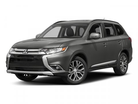 2017 Mitsubishi Outlander SEL Mercury Gray MetallicBlack V4 24 L Variable 5 miles 7 PASSENGER
