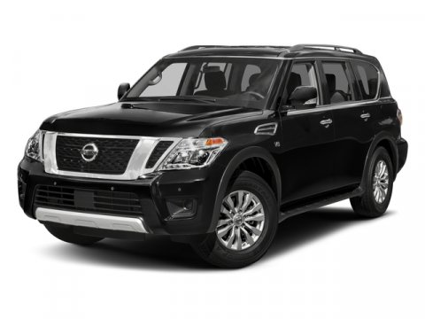 2017 Nissan Armada SV RWD Super BlackCharcoal V8 56 L Automatic 28410 miles Off Lease Only is