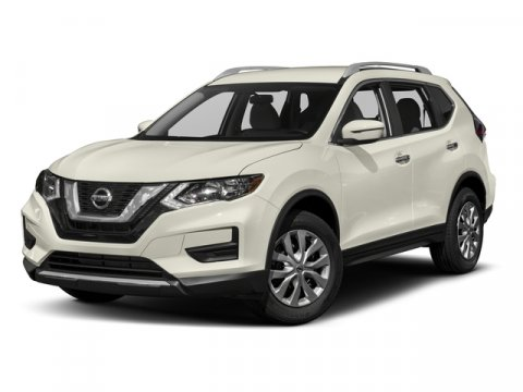 2017 Nissan Rogue SV Pearl WhiteCharcoal V4 25 L Variable 37053 miles CARFAX One-Owner Clean