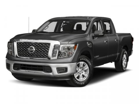 2017 Nissan Titan S Brilliant Silver V8 56 L Automatic 0 miles Take on the biggest toughest