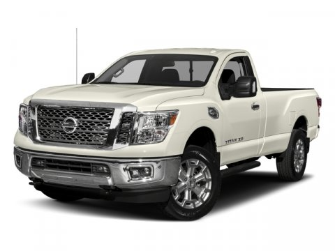 2017 Nissan Titan XD SV Glacier WhiteBlack V8 56 L Automatic 0 miles Take on the biggest tou
