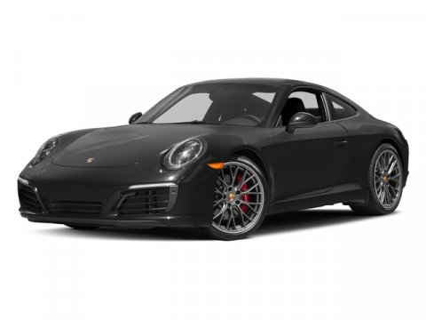 2017 Porsche 911 Carrera S BlackSTANDARD IN BLACK V6 30 L Automatic 5 miles Price plus gove