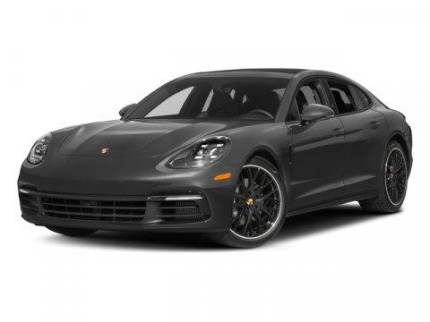 2017 Porsche Panamera GrayBlack V6 30 L Automatic 4061 miles 10376000 original MSRPCARFAX