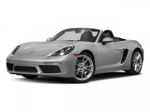 2017 Porsche 718 Boxster White V4 20 L  7001 miles  Turbocharged  Rear Wheel Drive  Active