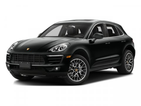 2017 Porsche Macan S Agate Grey MetSTANDARD BLACK V6 30 L Automatic 5 miles High performance