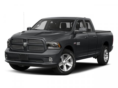 2017 Ram 1500 Sport Bright White ClearcoatBlack V8 57 L Automatic 0 miles  BRIGHT WHITE CLEARC