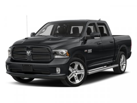 2017 Ram 1500 Night Brilliant Black Crystal PearlcoatBlack V8 57 L Automatic 9988 miles Only