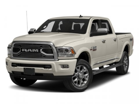 2017 Ram 2500 Laramie Bright White ClearcoatBlack V6 67 L Automatic 0 miles  RADIO UCONNECT 8
