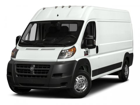 2017 Ram ProMaster Cargo Van High Roof Bright White ClearcoatGray V6 36 L Automatic 0 miles B