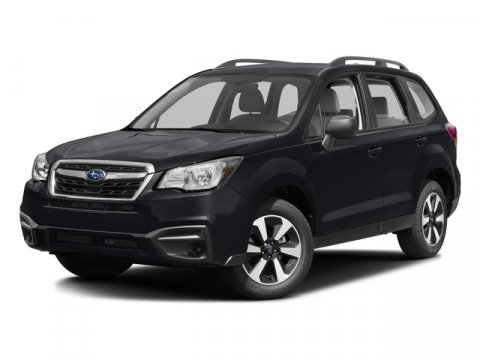 2017 Subaru Forester 25I Crystal BlackBlack V4 25 L Manual 10 miles  All Wheel Drive  Power