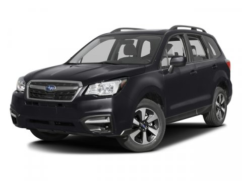 2017 Subaru Forester Premium Crystal Black SilicaBlack V4 25 L Variable 6849 miles 2017 Subar