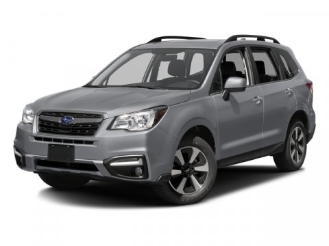 2017 Subaru Forester Limited Jasmine GreenGray V4 25 L Variable 0 miles  All Wheel Drive  Po