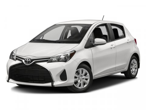2017 Toyota Yaris LE Super WhiteBlack wCircle Design V4 15 L Automatic 5 miles  CARPET FLOOR