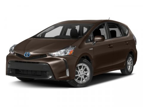 2017 Toyota Prius v Three Blizzard PearlAsh V4 18 L Variable 5 miles  CARGO NET-ENVELOPE  CA