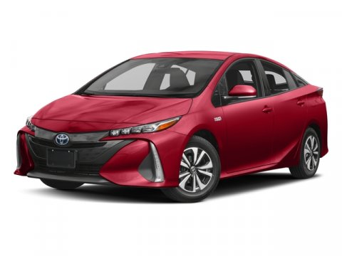 2017 Toyota Prius Prime Advanced 03T7Hypersonic RedBlack V4 18 L Variable 8 miles  CARPET MA