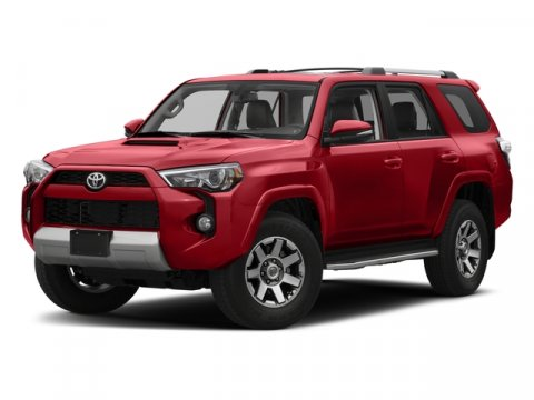 2017 Toyota 4Runner TRD Off Road Premium 01G3 Magnetic Gray MetallicBlack V6 40 L Automatic 8