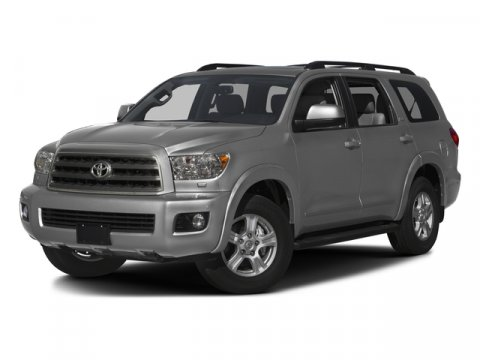 2017 Toyota Sequoia SR5 Magnetic Gray MetallicGraphite V8 57 L Automatic 5 miles  CARPET FLOO