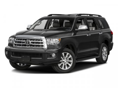 2017 Toyota Sequoia Limited 0040Super WhiteGraphite V8 57 L Automatic 2 miles  SAFETY  CONV